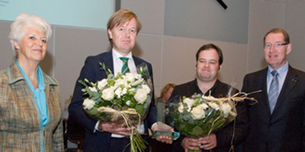 Winnaar Zuid Hollandprijs 2010