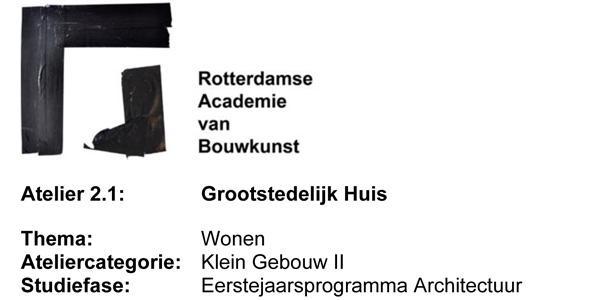 Lunchlezing Academie van Bouwkunst Rotterdam