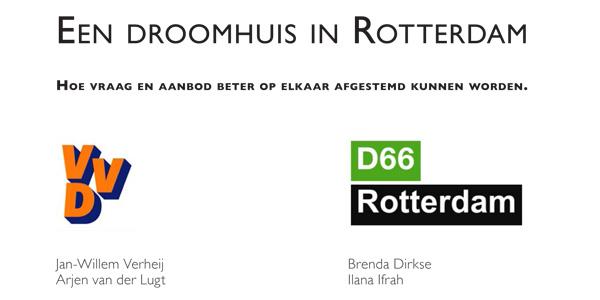 Woonnotitie VVD en D66 met input van studio Hartzema