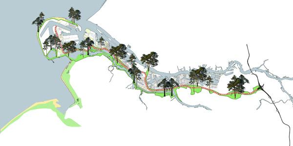Plan van aanpak voor het Rotterdamse bos wordt aangeboden aan wethouder Marco Florijn