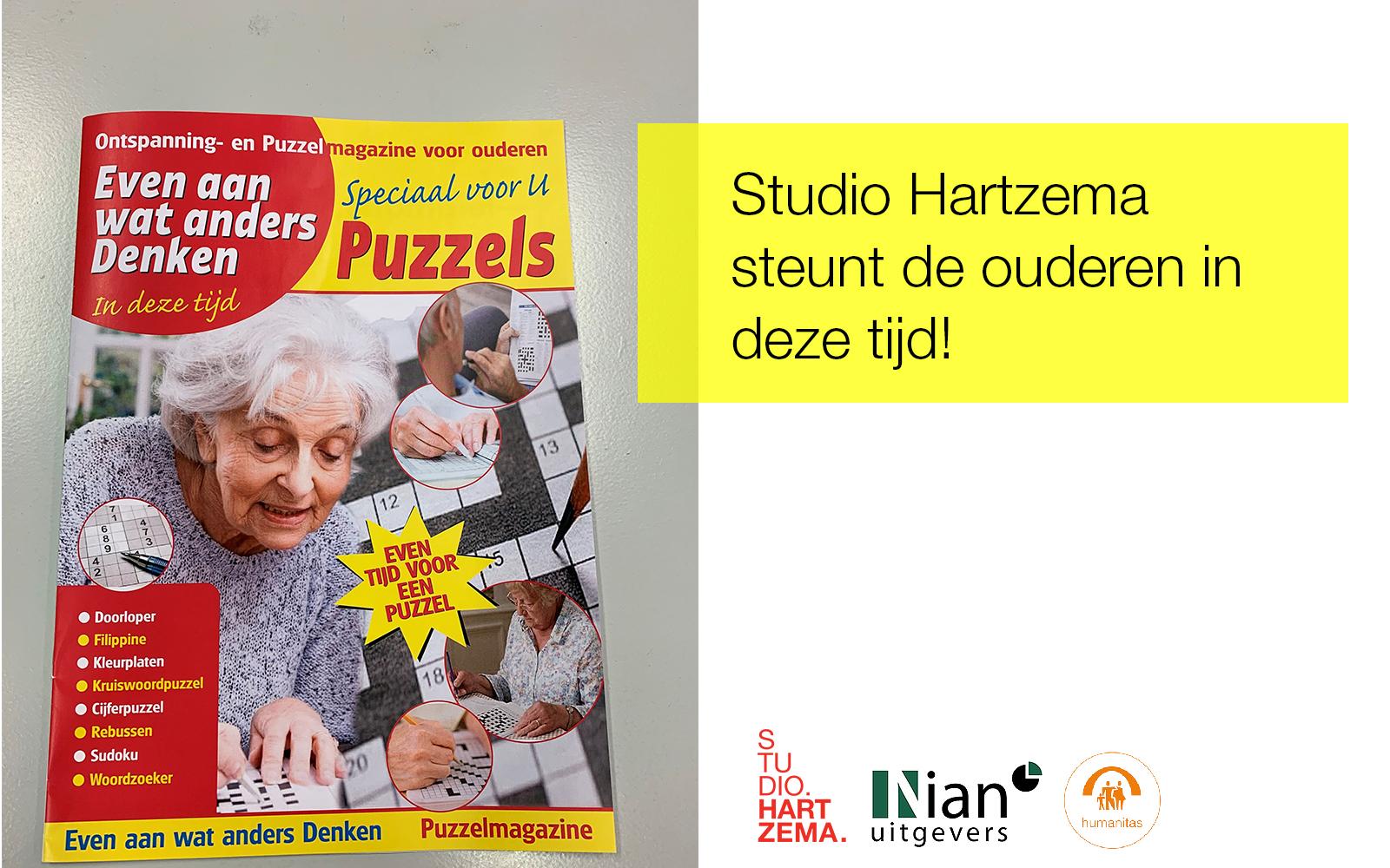 Studio Hartzema steunt de ouderen